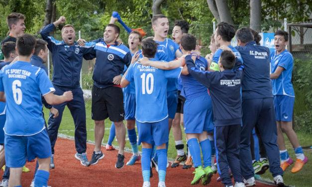 Academia Sport Team in grupa cu Viitorul Constanta, LPS Buzau si Delta Tulcea la turneul zonal de Juniori C !!!