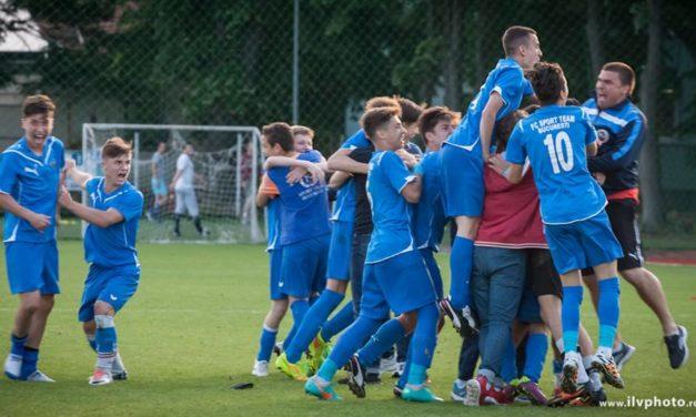 ACADEMIA SPORT TEAM castiga in fata echipei Dinamo la loviturile de departajare si se califica in semifinale !!!