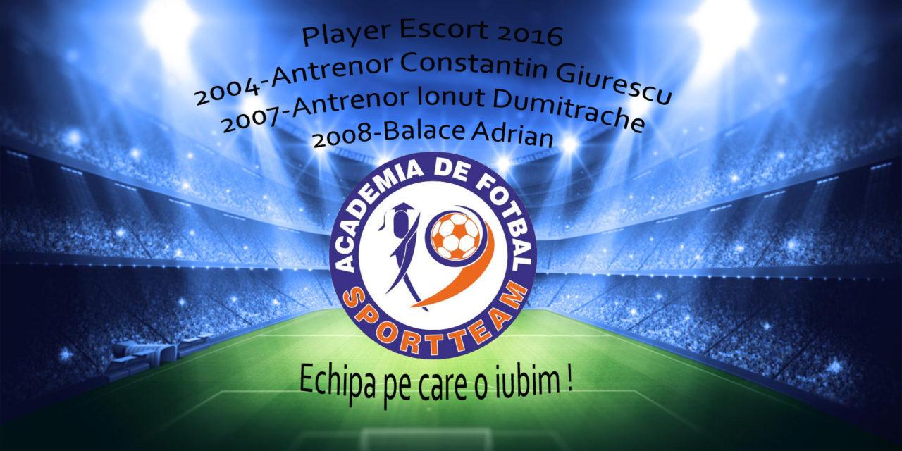 Player Escort 2016