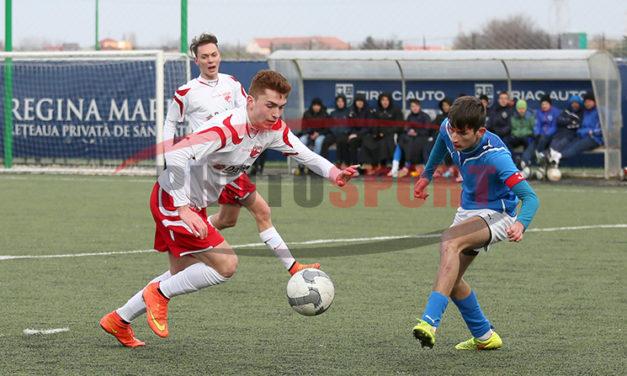 Academia Sport Team invinsa de Dinamo JB in etapa 17 – Junior B
