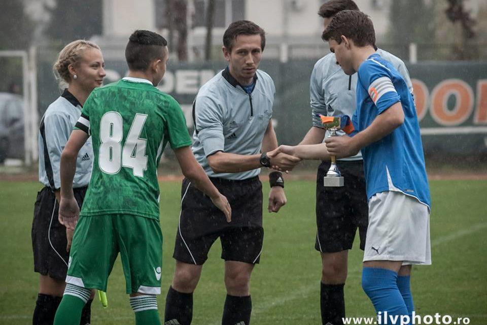 Academia de Fotbal Sport Team, amicale cu Ludogoreț Razgrad