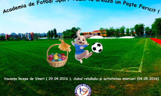 Perioada vacanţă Academia de Fotbal Sport Team