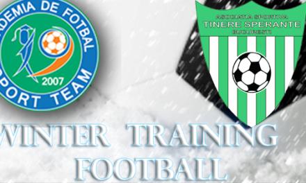 Academia Sport Team a castigat finala Winter Football Training 2015 ( Categoria 2006 )